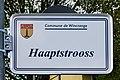 Stroosseschëld Haaptstrooss, Diänjen-101.jpg