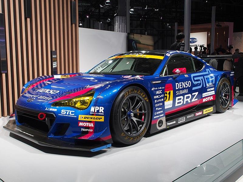 File:Subaru BRZ GT300 Tokyo Motor Show 2019 PB042203.jpg