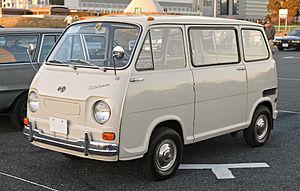 Subaru Sambar - The second generation early version (1966–1973)