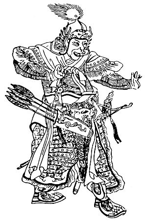 Subutai - Medieval Chinese drawing