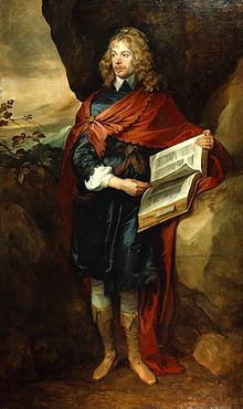 Sir John Suckling as painted by Van Dyck.