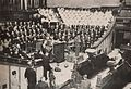 Sukarno speaking at a Mormon Church in Salt Lake City, Presiden Soekarno di Amerika Serikat, p63.jpg