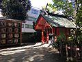Sukunahikona Shrine in Sumiyoshi Shrine.JPG