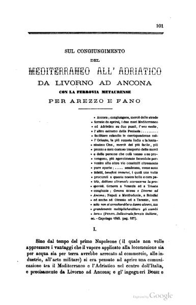 File:Sul congiungimento del Mediterraneo all'Adriatico.djvu
