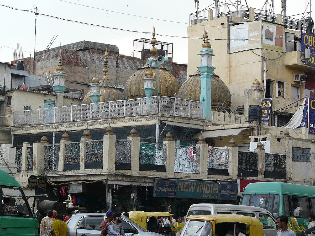 Sunehri Masjid Chandni Chowk Wikipedia