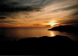 Achmelvich - Image: Sunset Alchmelvicai