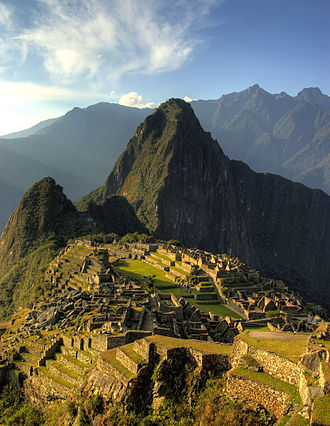 History of Peru - View of Machu Picchu
