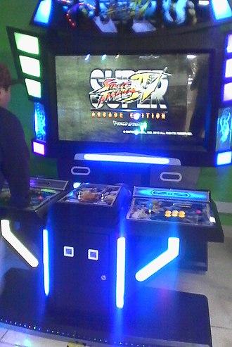 Super Street Fighter IV: Arcade Edition - A Super Street Fighter IV: Arcade Edition arcade cabinet