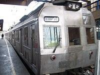 Trem com ar-condicionado, da linha especial Central do Brasil—Campo Grande.