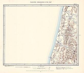 Elyashiv - Image: Survey of Western Palestine 1880.10