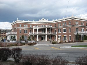 Newton, New Jersey - The administrative offices for the County of Sussex are located in the center of Newton at One Spring Street.