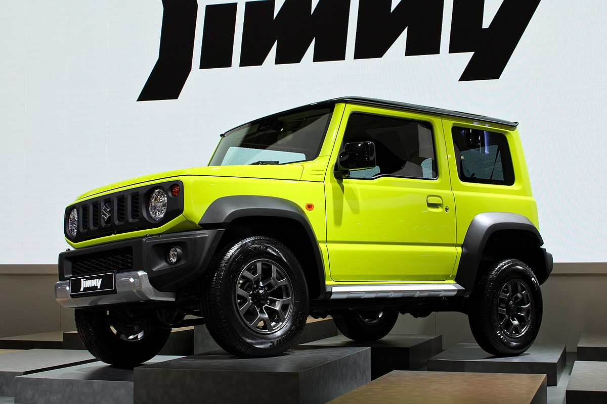 Suzuki Jimny Wikipedia - Bay city car show 2018