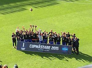 2015 Svenska Cupen Final - Image: Svenska Cupen 2015