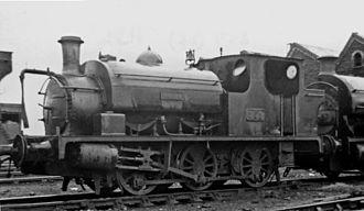 Llanelly and Mynydd Mawr Railway - 0-6-0 saddle-tank No. 359 'Hilda' at Danygraig Locomotive Depot 1946