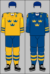 Sweden national ice hockey team jerseys 2018 IHWC.png