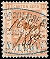 Switzerland Bern 1881 revenue 10c - 24B 16 Sept 1887.jpg