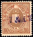 Switzerland Neuchâtel 1925 revenue 5 80c - 29B.jpg