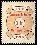 Switzerland Renens 1915 revenue 10 2Fr - 49.jpg