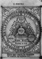 Sylva Philosophorum 03 Deus est trinus et unus.png