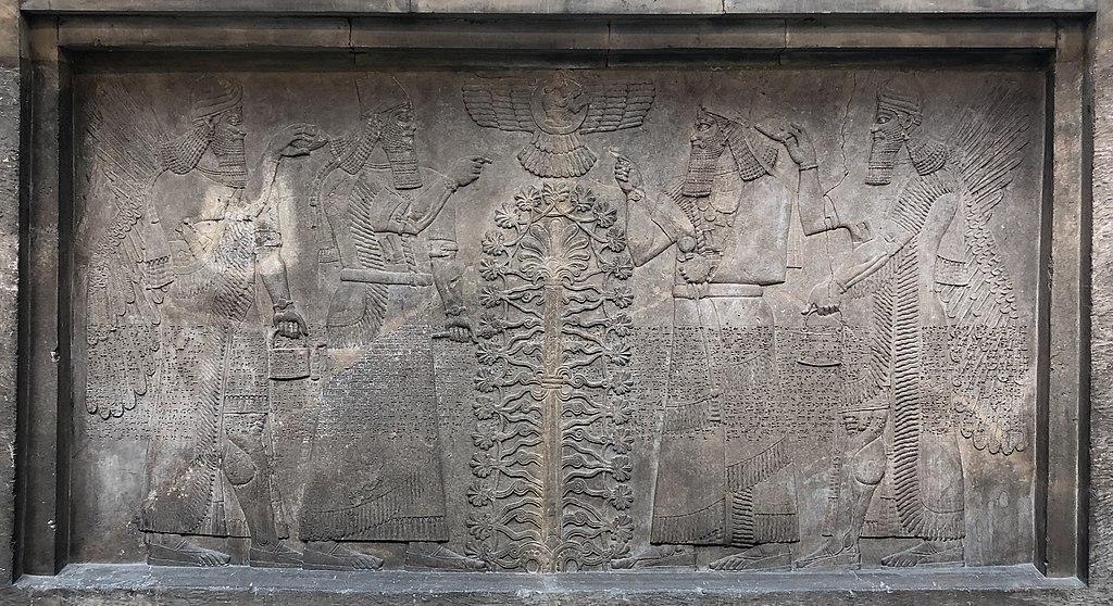 Tree of Life - Assyrian king Ashurnasirpal