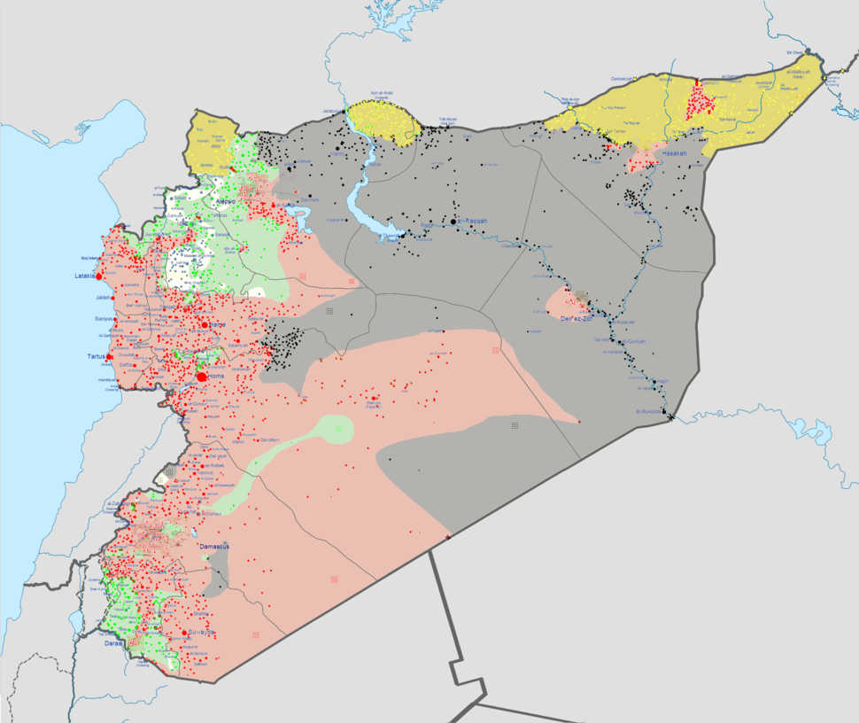 Syrian civil war 01 04 2015