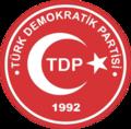 Türk Demokratik Partisi logosu.png
