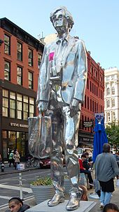 rob pruitt the andy monument - Andy Warhol Lebenslauf