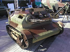 Tankette - A TKS tankette in the Polish Army Museum.