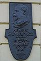Tablica pamiątkowa Henryk Sienkiewicz, Kraków, 2006-07-24.jpg