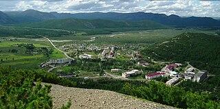 Talaya Urban-type settlement in Magadan Oblast, Russia