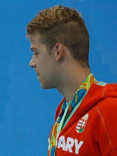 Tamás Kenderesi Hungarian swimmer
