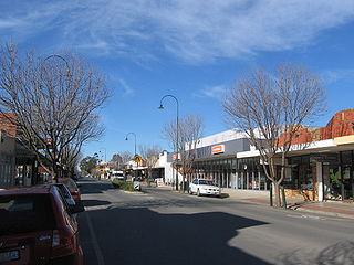 Tatura Town in Victoria, Australia