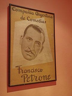 Francisco Petrone Argentine actor