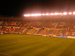 Estadio Teddy, visto desde el interior
