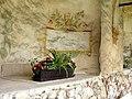 Telč Schlossgarten - Fresko 1.jpg