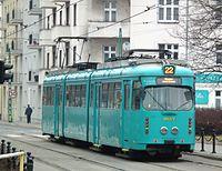Temporary tram line 22 in Poznan (9).JPG
