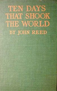 <i>Ten Days That Shook the World</i> novel by John Reed