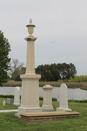 Talbot County, Maryland - (Col. Tench Tilghman grave site)