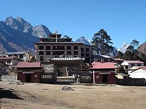 Monastery - Tengboche Buddhist monastery, Nepal