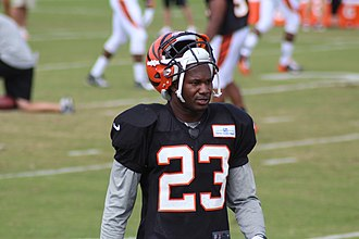 Terence Newman - Newman with the Cincinnati Bengals in 2014