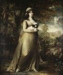 Teresa Vandoni, Italian Singer at the Royal Opera, Stockholm (Carl Fredrik von Breda) - Nationalmuseum - 18432.tif
