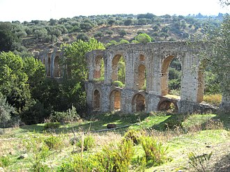Battle of Thermae - Roman aqueduct at Termini Imerese