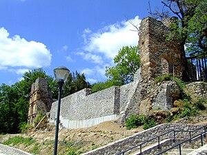 George Szatmári - Ruins of Szatmári's Renaissance villa on Tettye hill in Pécs