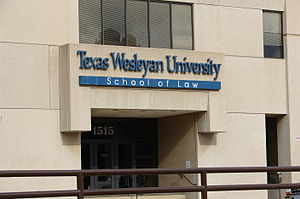 Texas Wesleyan University - The former Law School at Texas Wesleyan University, now owned by Texas A&M University