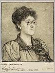 Thérèse Schwartz, geportretteerd door Jan Veth (1894).jpg