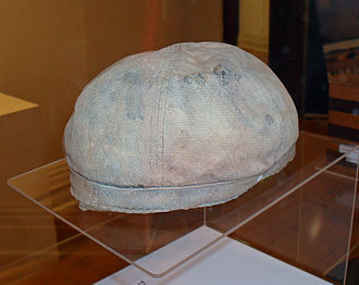 Cowra breakout - Japanese POW cap, which was originally maroon, is the only known clothing relic from the Cowra POW camp