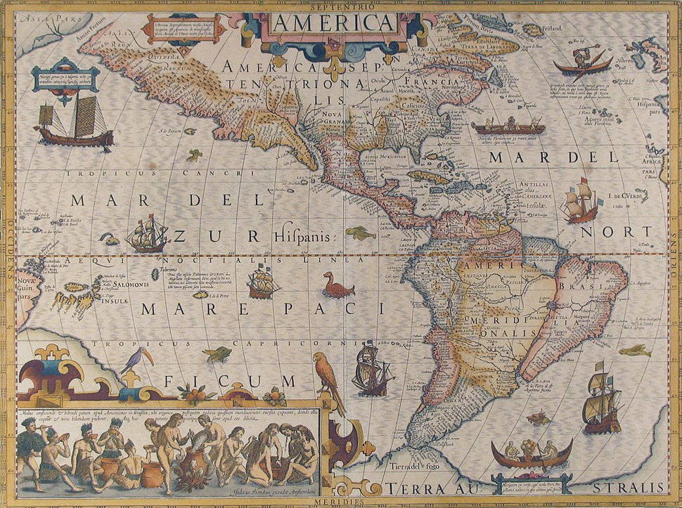 The Americas in the reign of James I