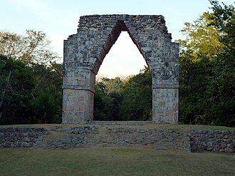 Kabah (Maya site) - Image: The Arch of Kabah (8263787579)