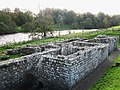 The Bath House, Chesters Fort and the River North Tyne - geograph.org.uk - 1035672.jpg