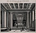 The British Museum; the entrance hall and staircase. Wood en Wellcome V0013514.jpg